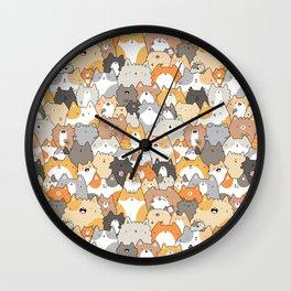 Cats, Kitties and a Spy Wall Clock