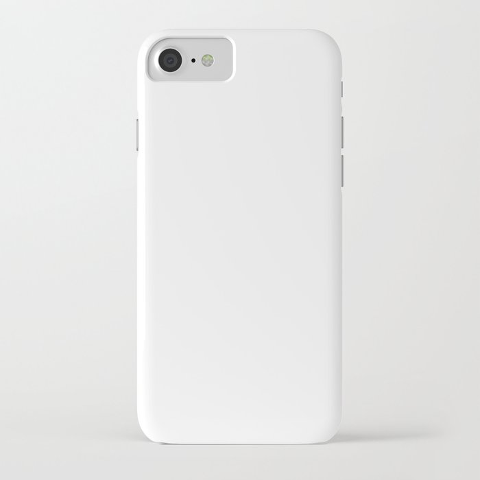 stark white : solid color iphone case