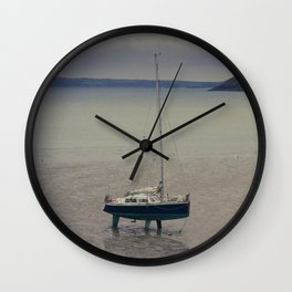 Waiting for the flood Wall Clock
