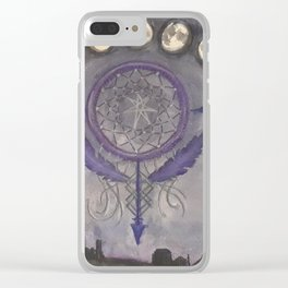 Dream Chasing Clear iPhone Case
