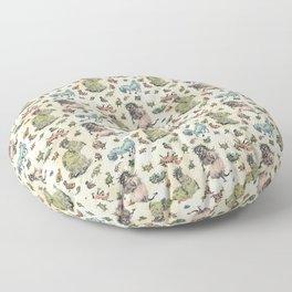 Monster Pattern Floor Pillow