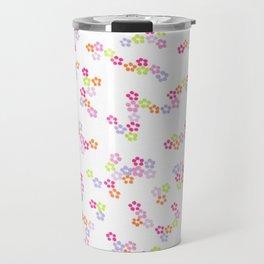 Floral Polka Spot Travel Mug