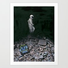 Mooninite Art Print