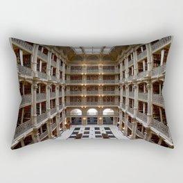 Peabody Institute interior Rectangular Pillow