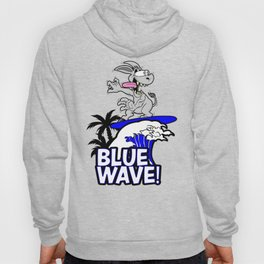 Blue Wave Design for Liberal Democrat 2018 Voters Hoody