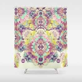 Opal with phantoms  Shower Curtain