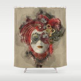 Venetian Mask 1 Shower Curtain