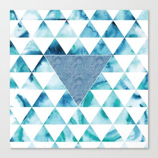 Triangle Sky Canvas Print