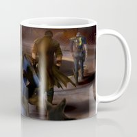 fallout Mugs featuring Fallout Tribute by Hetty's Art