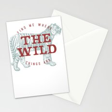 THE WILD THINGS Stationery Cards