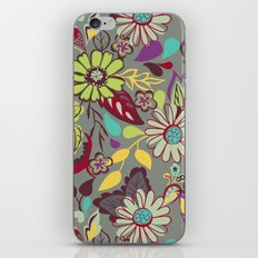 Large Bright Blooms iPhone Skin