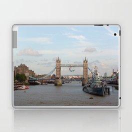 Tower Bridge with Paralympic Symbols Laptop & iPad Skin
