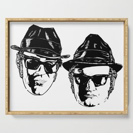 The Blues Brothers - Can You See The Light? Serving Tray
