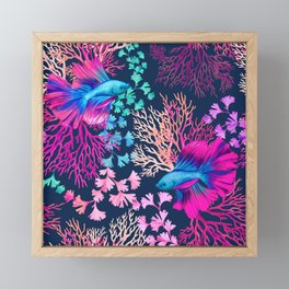 Coral Reef Framed Mini Art Print
