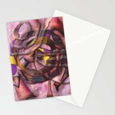 Cerulian Pressure points Stationery Cards