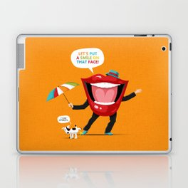 Put A Smile On Laptop & iPad Skin