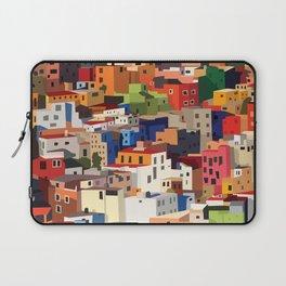 Mexico historical town cityscape (Guanajuato) Laptop Sleeve