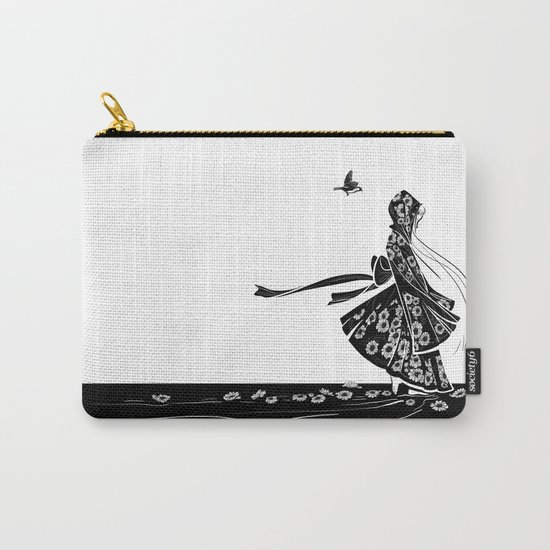 Daisy Girl Carry-All Pouch
