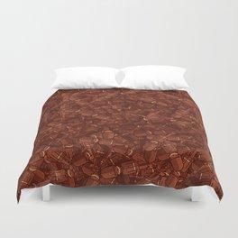 Chocolate Guard Buckingham Duvet Cover