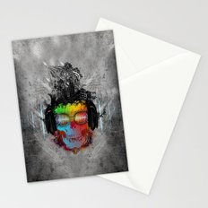 Rebel music Stationery Cards