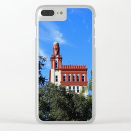 Augustine Architecture Clear iPhone Case