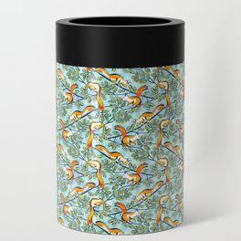 Oak Tree with Squirrels in Summer Can Cooler