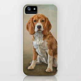 Drawing Dog Beagle iPhone Case