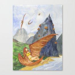 Beach of Angels Canvas Print
