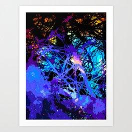 γ Aquilae Art Print