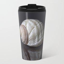 Seashell snail reflection Travel Mug