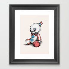 Plush Spaulding Framed Art Print