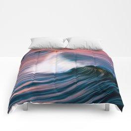 Sunrise Surf HB Pier 9/12/15  (Pk) Comforters