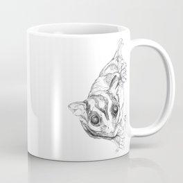 A Sketch :: A Sugar Glider Named Loki Coffee Mug