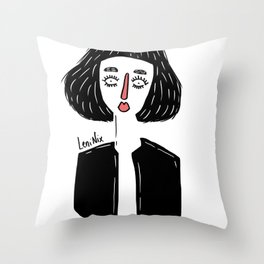 GIRL I Throw Pillow