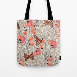 Monarch garden 001 Tote Bag