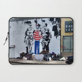 Oh Crap, There's Waldo Laptop Sleeve