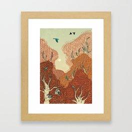 Time for Fall Framed Art Print