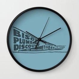 Buffalo's Bison Plumbing Wall Clock