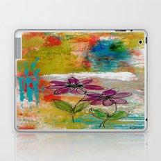 TWO FLOWERS Laptop & iPad Skin