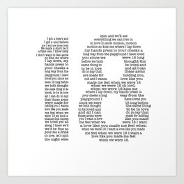 18 - One Direction Art Print