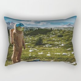 The Spaceman (Color) Rectangular Pillow