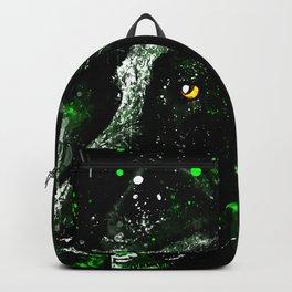 black labrador retriever dog wsde Backpack