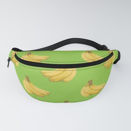 a pattern of bananas Fanny Pack