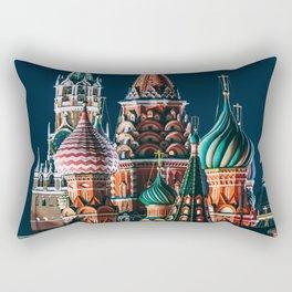 St. Basil's Cathedral | Barma e Postnik Architects Rectangular Pillow