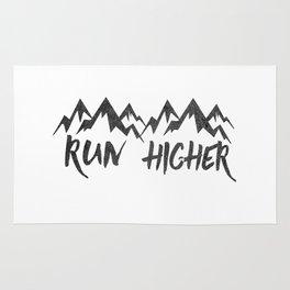 Run Higher  Rug