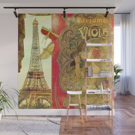 The Crickets of Paris Wall Mural