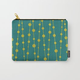 Gold Beads Carry-All Pouch