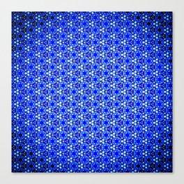 Infinite Blue Canvas Print