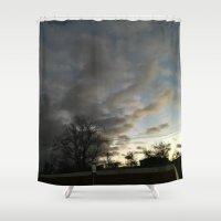 twilight Shower Curtains featuring Twilight. by Mikhail Zhirnov