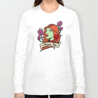 poison ivy Long Sleeve T-shirts featuring Poison Ivy by Buby87